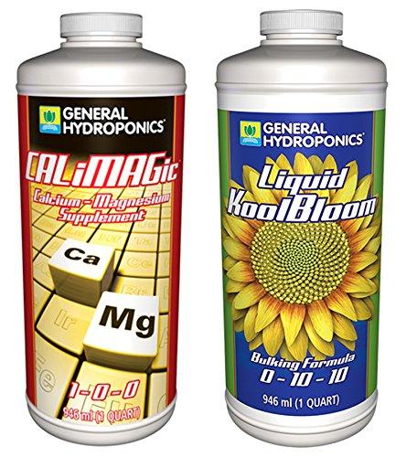General Hydroponics GLCMBX0012 Calimagic and Liquid Koolbloom Combo, 1 Quart Fertilizer