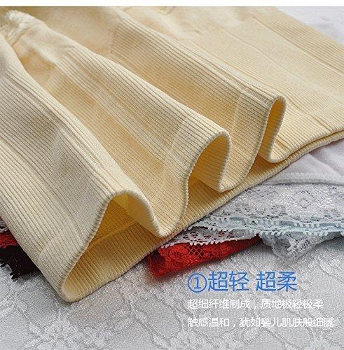 Original de Japón Munafie alta cintura adelgazar panty cuerpo inconsútil vientre forma delgada ropa interior Light Brown