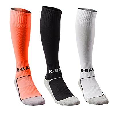 Compression Athletic Socks Knee High Sports Socks Team Athletic Performance Socks for Kids Boys
