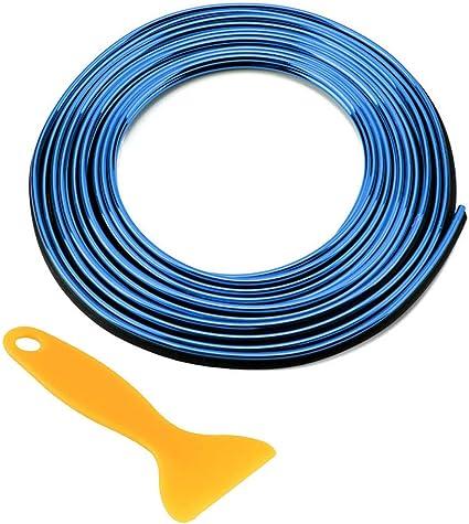 Azul WINOMO tira para moldura coche interno y externo Decoraci/ón 5/M