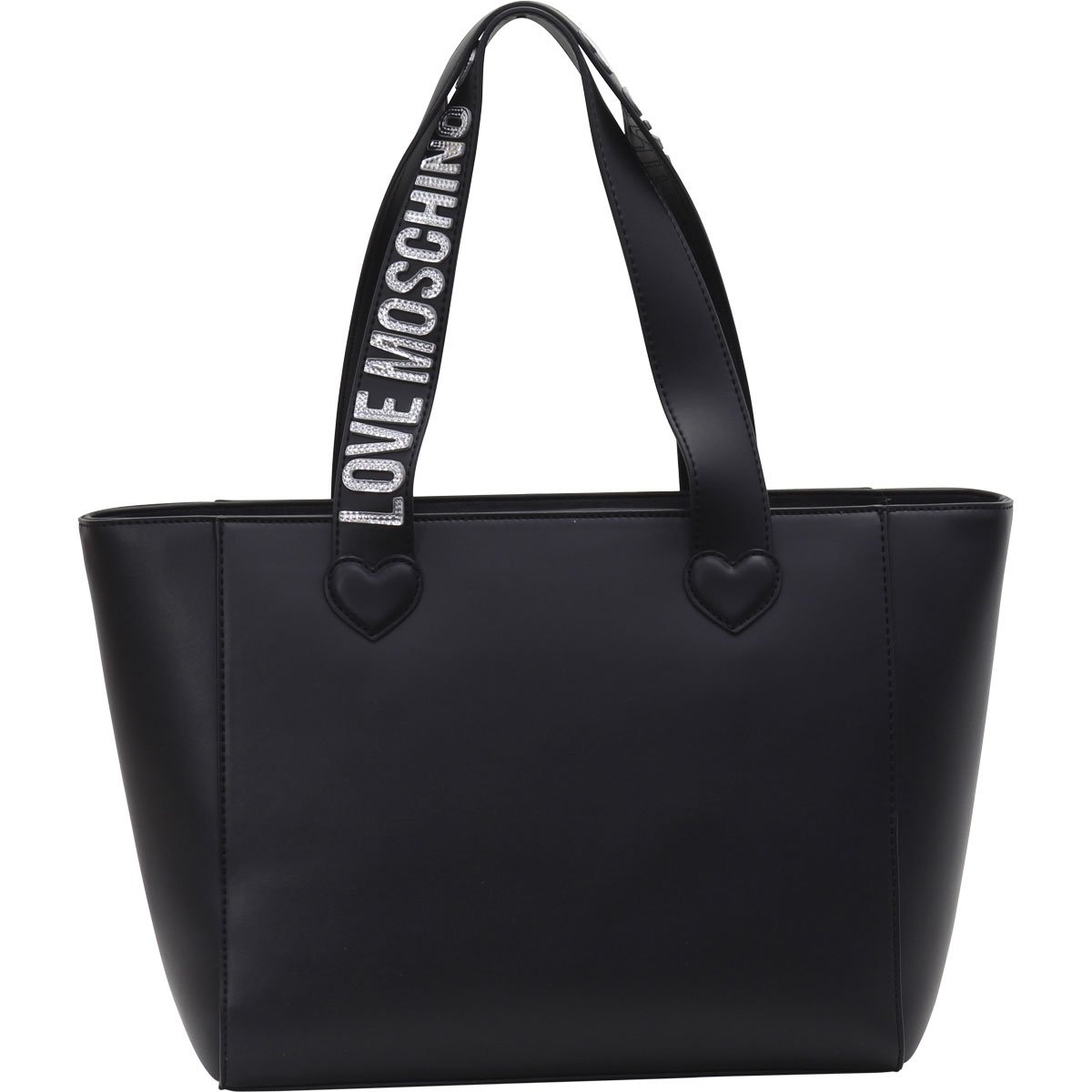 Love Moschino Women's Embroidered Hearts Cluster Tote Handbag by Love Moschino (Image #3)