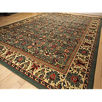 living room rugs amazon new green tabriz design 8x10 area rug 11927