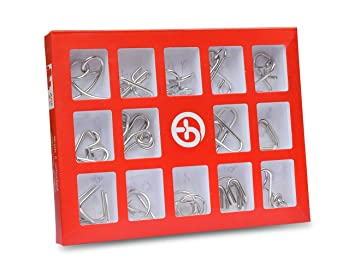 Metal Wire Puzzles Activity for Dementia Alzheimer's Seniors Elderly Memory Loss Product Keep Hands Busy Game