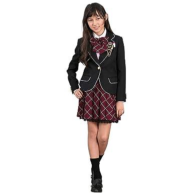 61935e94410 Amazon | [DECORA PINKY'S] 卒業式 小学生 女の子 スーツ (ガールズ ...