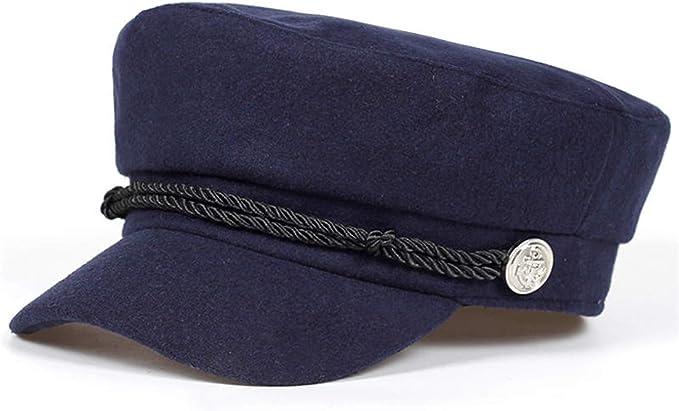 Constructs Azul Marino Sombrero Gorra Mujer Sombreros De Invierno ...
