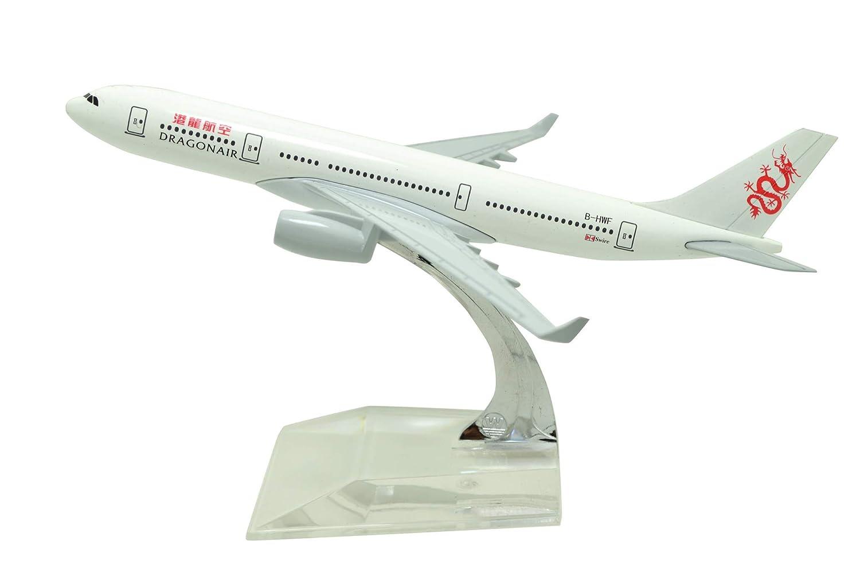 宅配便配送 Tang-Dynasty(TM B07K43ZTLK エアバス 1:400 メタル 16cm エアバス A330 ドラゴンエア メタル 飛行機 モデル 飛行機 おもちゃ 飛行機 モデル B07K43ZTLK, モトスグン:777ae744 --- wap.milksoft.com.br