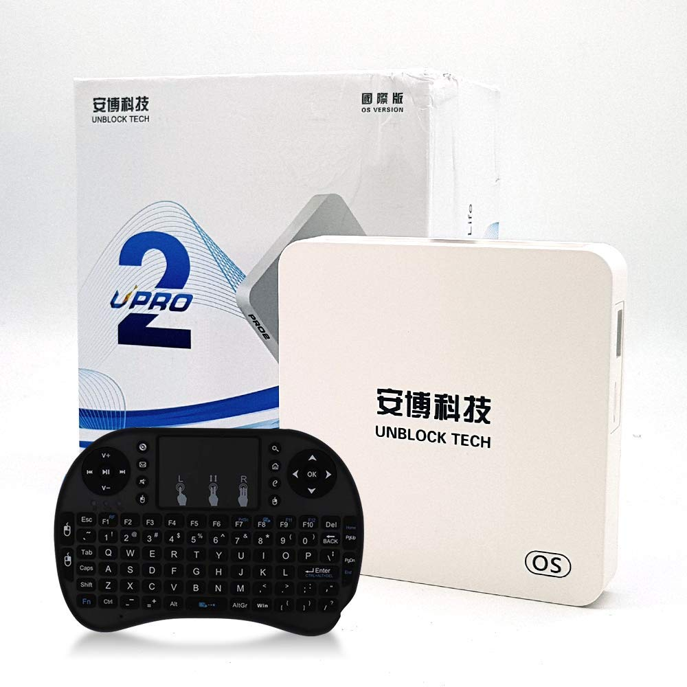 Unblock 2019 Latest unblock tech PRO2 Root Unrestricted Edition of China Mainland app GEN7 Box Contain Surprise Accessorie