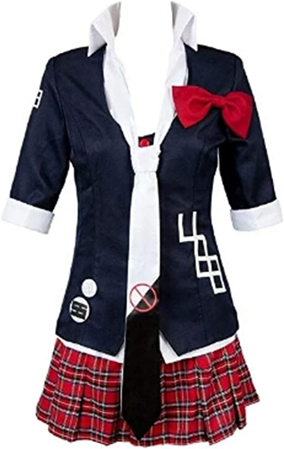 Double Villages Anime Danganronpa Junko Enoshima Cosplay Costume Polyester Uniform Costume Suit