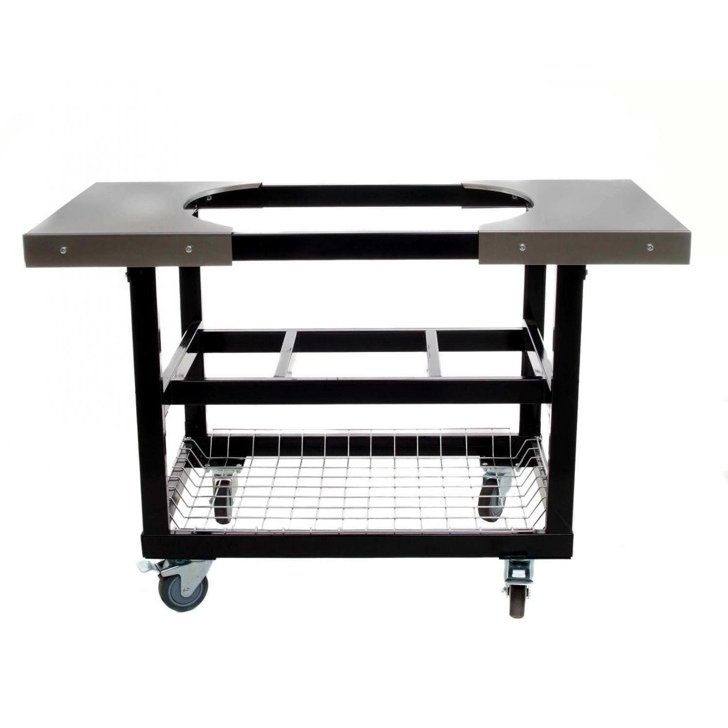 Amazon.com : Primo 310 Cart With Basket And Side Tables With Casters For  Primo Oval XL Grill : Outdoor Grill Carts : Garden U0026 Outdoor