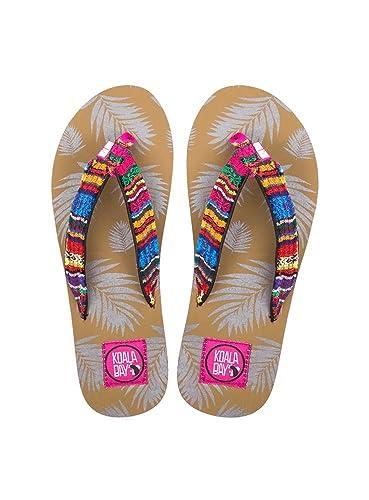 KOALA BAY Women's Thong Sandals pink fuchsia