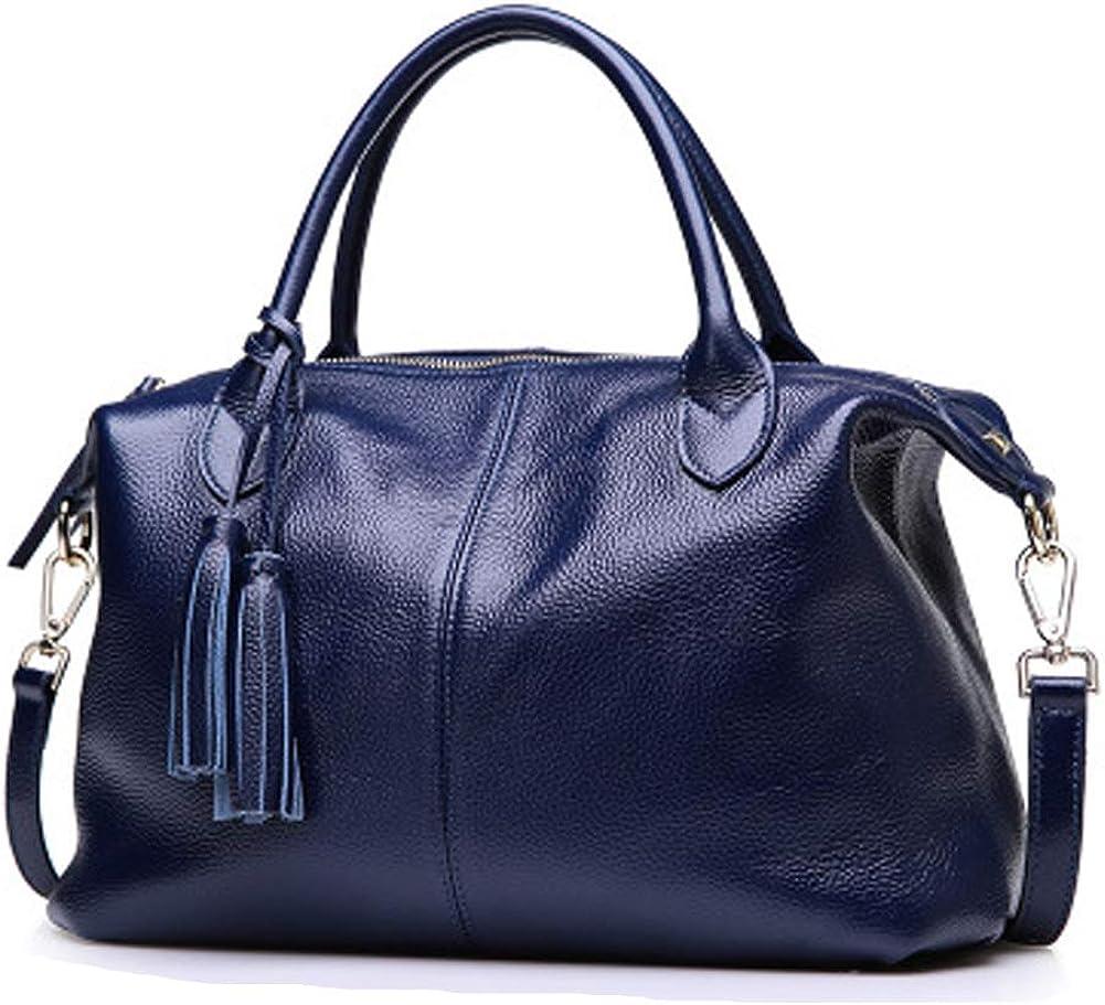 Bag Leather Handbag Suede...