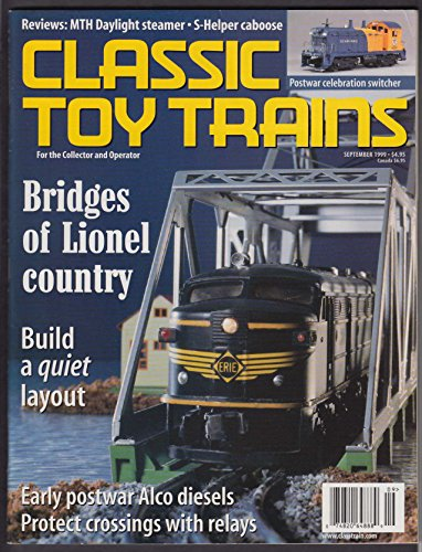 CLASSIC TOY TRAINS Lionel Alco MTH Daylight S-Helper for sale  Delivered anywhere in USA