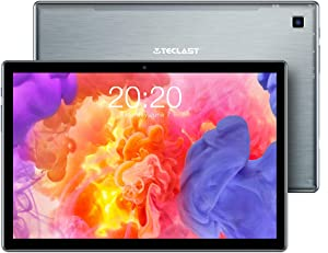 TECLAST P20HD Tablet 10 inch 4GB RAM 64GB ROM, 1.6GHz Octa-Core CPU Android Tablet, 1920x1200 FHD IPS, 2.4G+5G WiFi 2MP+5MP Camera, Bluetooth 5.0 Type-C GPS