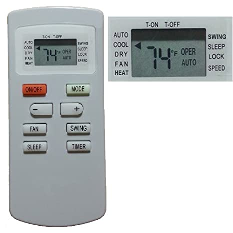 Amazon com: Replacement for GREE Air Conditioner Remote