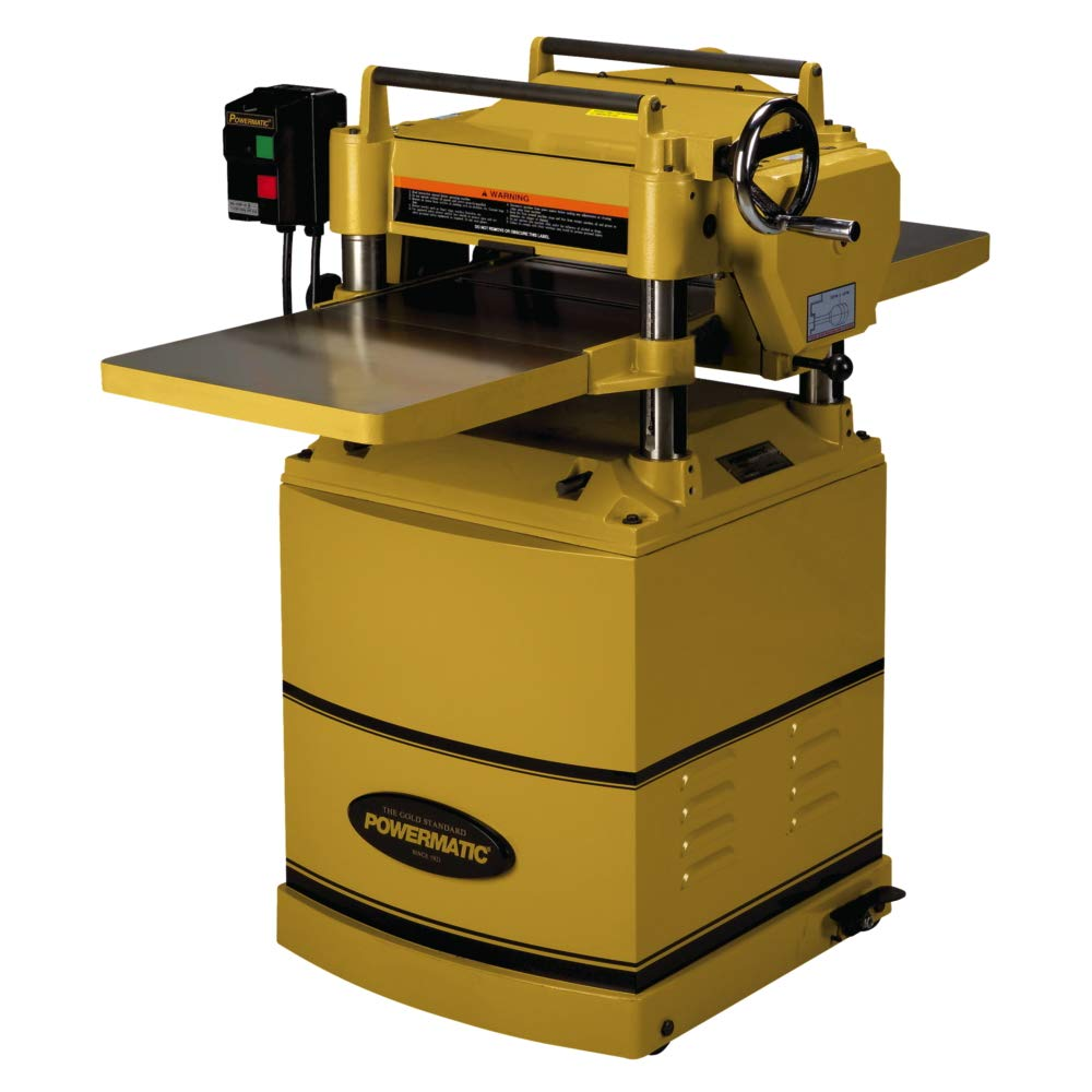 Powermatic 1791213 15HH 3 HP 15-Inch Planer with 230-Volt 1 Phase Byrd  Shelix Helical Cutterhead - Power Planers - Amazon.com
