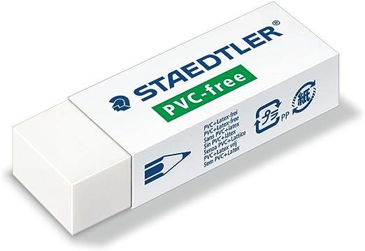 Staedtler 525 B20 goma de borrar PVC y libre de látex, color ...