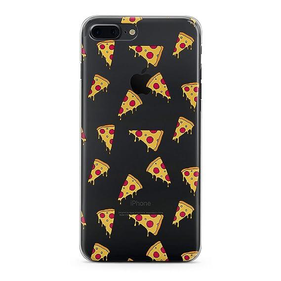 2a68c02051 Amazon.com: Lex Altern Pizza Case for iPhone Xs Max X Xr 8 Plus 7 6s ...