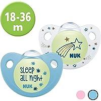 NUK 10177146 Trendline Night & Day - Chupete