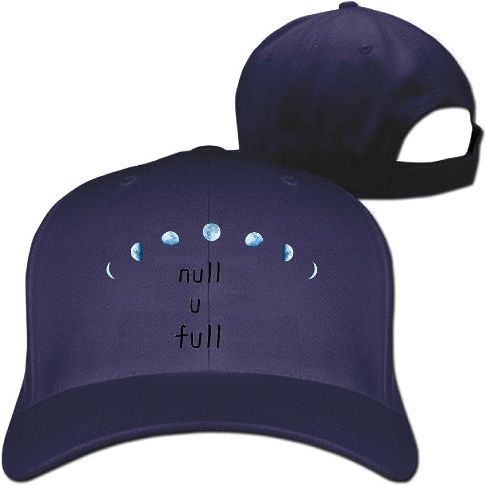 Luna Llena Dibujo Flatbill visera impresión Cool visera gorra de ...