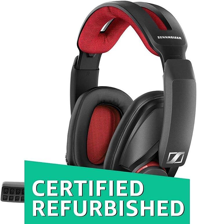 Renewed  Sennheiser GSP 350 Gaming Headphones  Black/Red  Headsets