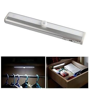 I Dragon Stick On Anywhere 10 LED Wireless Motion Sensing Schrank Kabinett  LED