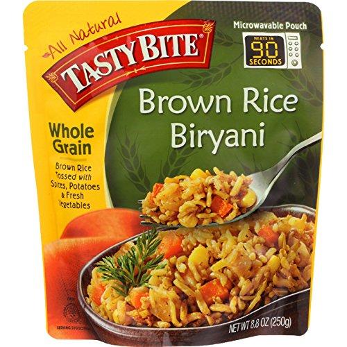 Tasty Bite Whole Grain Brown Rice Biryani, 8.8 Ounce - 6 per case.