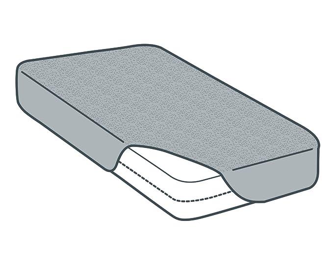 Tural - Protector de colchón Anti Bacterias. Impermeable y Transpirable. Rizo 100% Algodón. Talla 140x200cm: Amazon.es: Hogar