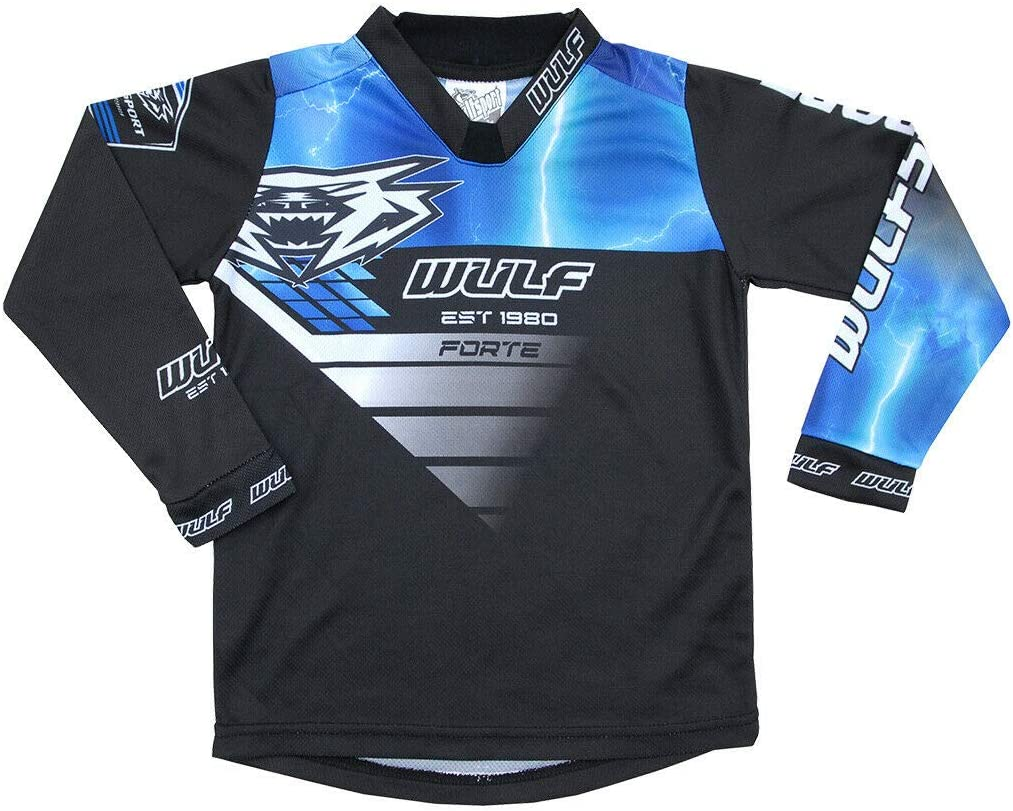 MOTORBIKE WULF FORTE MX KIDS RACE SUIT New 2020 Motocross Quad Off Road Trials Enduro Kart ATV MTB Dirt Bike Pit Sport Junior Pant Shirt Kit