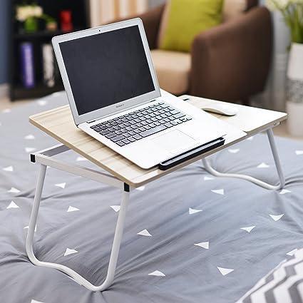 SogesHome Mesa Plegable para Ordenador portátil, Escritorio ...