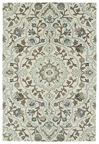 Kaleen Rugs Middleton Collection MID06-01 Ivory Hand Tufted 5