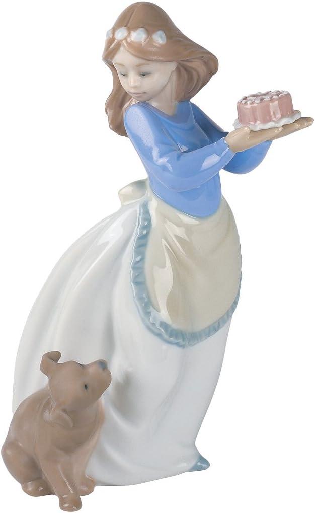 B0001WW2I0 NAO Puppy's Birthday Porcelain Figurine 61i0gF9FxEL.SL1500_
