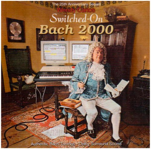 Switched on Bach 2000 by CARLOS,WENDY