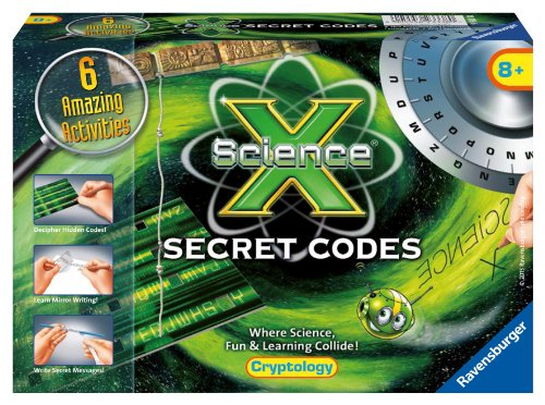 Ravensburger Science X Secret Codes Activity Kit