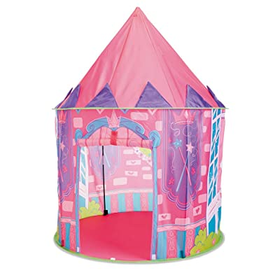 Kidoozie Princess Hideaway Playhouse with Front Door Flap and 1 Windows: Toys & Games