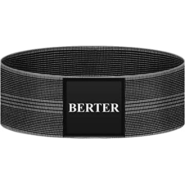 BERTER Resistance Bands for Legs and Butt, Workout Exercise Bands Non-Slip Fitness Booty Loop Hip Bands Perfect for Squats, Deadlifts