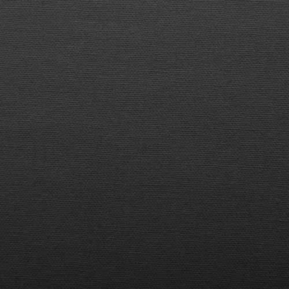 Cotonea Edellinon Spannbettlaken Bio Baumwolle kbA schwarz 180x200 cm