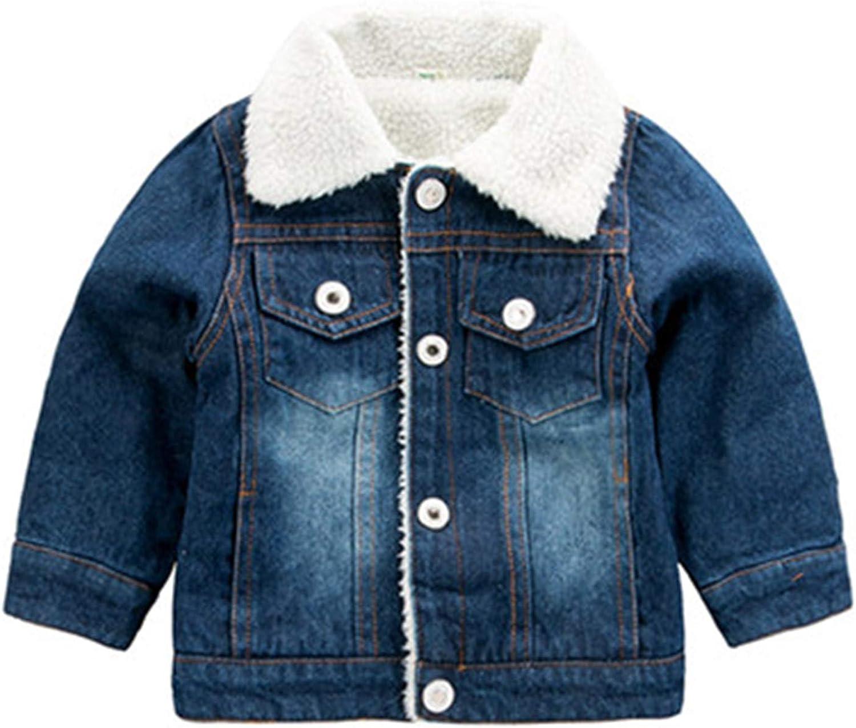 Winter Denim Jeans Jacket Boys Retro Plus Thick Velvet Kids Coats Tactical Warm Windbreaker
