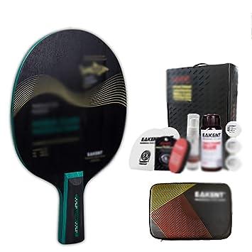 xianw Raquetas de Tenis de Mesa Profesional,Paletas de Patente ...