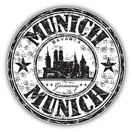 "London City England Grunge Travel Stamp Car Bumper Sticker Decal 5/"" x 4/"""
