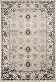 7010 Gray Traditional 5 x 7 Area Rug Carpet Large New For Sale