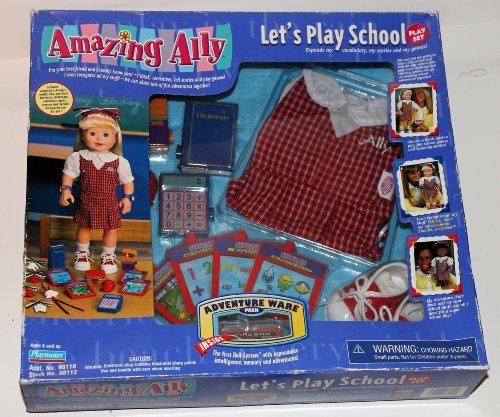 Amazing Ally Let's Play School Play Set