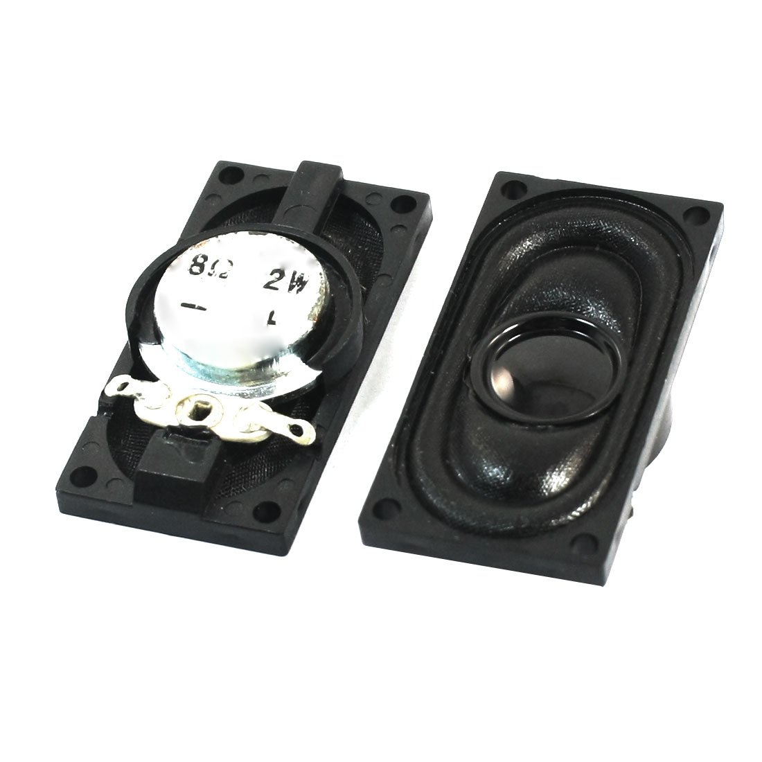 uxcell 0.5W 8 Ohm Audio Speaker Diameter 20mm Loudspeaker for Electronic Project 4pcs