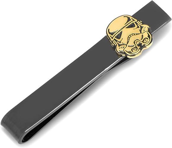 Star Wars Stormtrooper negro y dorado corbata Bar, con licencia ...