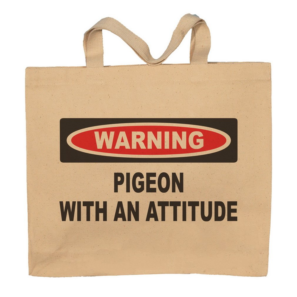 Pigeon With An Attitude Totebag Bag