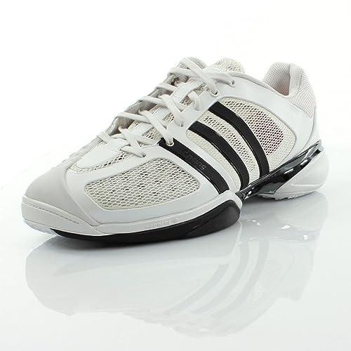 quality design 59956 e3f22 adidas - Zapatillas de Deporte para Hombre Blanco BlancoNegro Amazon.es  Zapatos y complementos