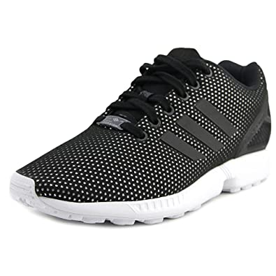 new product a9a0c 72b1d adidas Originals Women s Zx Flux w Fashion Sneaker, Black Black White, 8 M  US  Amazon.co.uk  Shoes   Bags