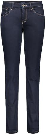 MAC damskie dżinsy Carrie Pipe 5954 ( 5909 ) dark rinsewash D801 (44/32): Odzież