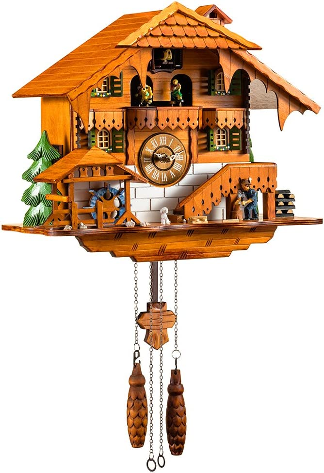 """A picture of this clock to better elaborate """"Best Cuckoo Clocks"""""""