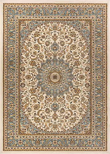Well Woven 36426 Timeless Aviva Traditional French Country Oriental Ivory Area Rug 6'7