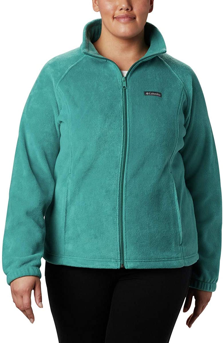 Columbia Womens Benton Springs Full Zip Jacket Soft Fleece with Classic Fit
